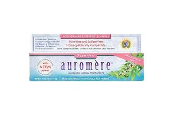 Auromere Toothpaste Ayurvedic Cardamom-Fennel - Fluoride Free 117g