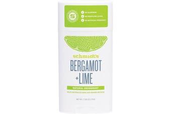 Schmidt's Deodorant Stick Bergamot + Lime 75g