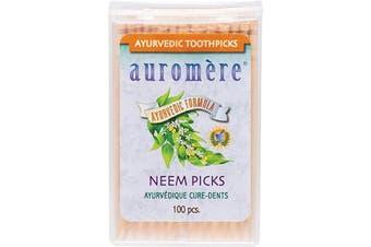 Auromere Toothpicks Neem Picks (Peppermint) 100
