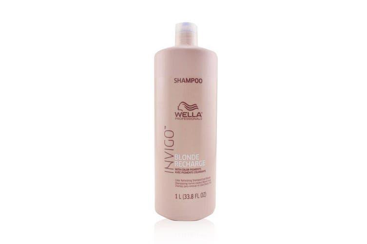 Wella Invigo Blonde Recharge Color Refreshing Shampoo - # Cool Blonde 1000ml
