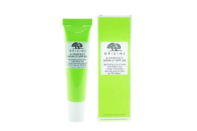 Origins A Perfect World Age-Defense Eye Cream With White Tea 15ml