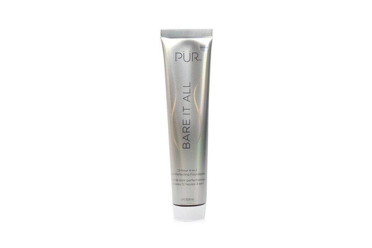 PUR (PurMinerals) Bare It All 12 Hour 4 in 1 Skin Perfecting Foundation - # Porcelain 45ml