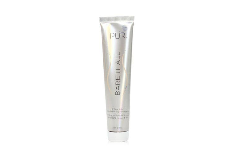 PUR (PurMinerals) Bare It All 12 Hour 4 in 1 Skin Perfecting Foundation - # Light 45ml