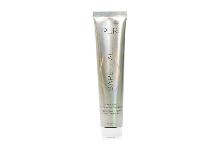 PUR (PurMinerals) Bare It All 12 Hour 4 in 1 Skin Perfecting Foundation - # Blush Medium 45ml