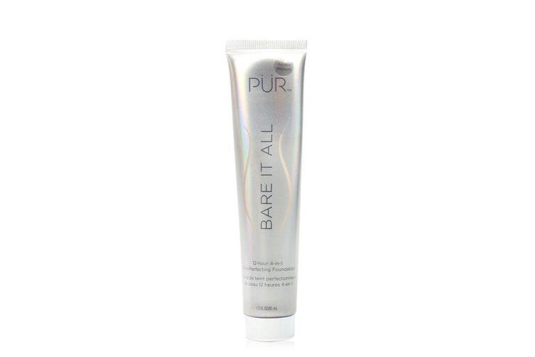 PUR (PurMinerals) Bare It All 12 Hour 4 in 1 Skin Perfecting Foundation - # Golden Medium 45ml