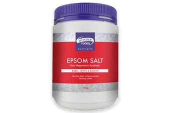 Wonder Foods Epsom Salt 750g