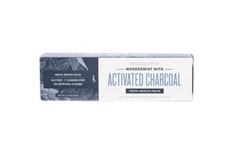 Schmidt's Tooth + Mouth Paste Wondermint With Activated Charcoal 133g