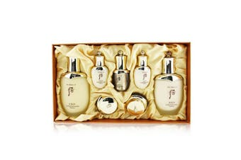 Whoo (The History Of Whoo) Cheongidan Radiant Special Set: Balancer (150ml + 25ml), Emulsion (110ml + 25ml), Essence 8ml. Cream 10ml, Eye Cream 5ml 7pcs