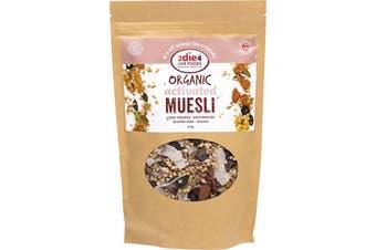 2die4 Live Foods Organic Activated Muesli 300g