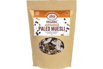 2die4 Live Foods Organic Activated Paleo Muesli 600g