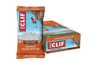 Clif Energy Bar Crunchy Peanut Butter 12x68g