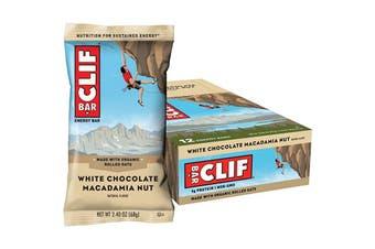 Clif Energy Bar White Chocolate Macadamia 12x68g