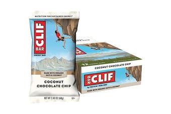 Clif Energy Bar Coconut Chocolate Chip 12x68g