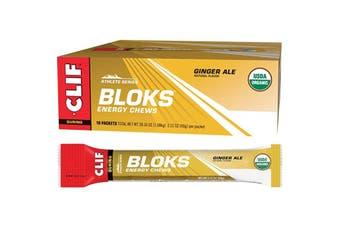 Clif Bloks Energy Chews Ginger Ale 18x60g
