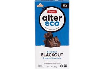 Alter Eco Chocolate (Organic) Dark Blackout 80g