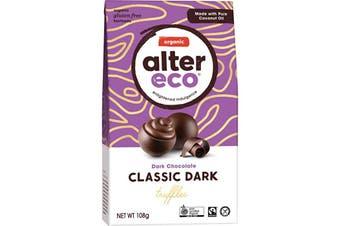 Alter Eco Chocolate (Organic) Classic Dark Truffles 108g