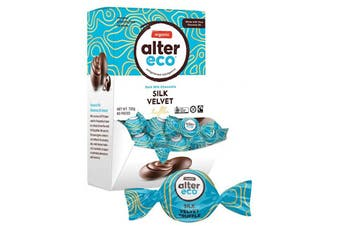 Alter Eco Chocolate (Organic) Silk Velvet Truffles - Display 60x12g