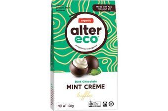 Alter Eco Chocolate (Organic) Dark Mint Creme Truffles 108g