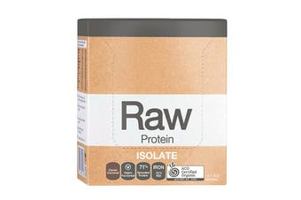 Amazonia Raw Protein Isolate Choc Coconut Sachet 30g x 12 Pack