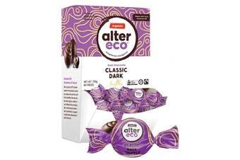 Alter Eco Chocolate (Organic) Classic Dark Truffles - Display 60x12g