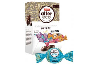 Alter Eco Chocolate (Organic) Medley Truffles - Display 60x12g