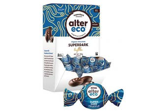 Alter Eco Chocolate (Organic) Superdark Cacao Truffles - Display 60x12g