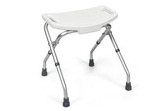 Folding Shower Chair Medical Bath Stool Seat Bathroom Bathtub Aid Bench  Adjustable