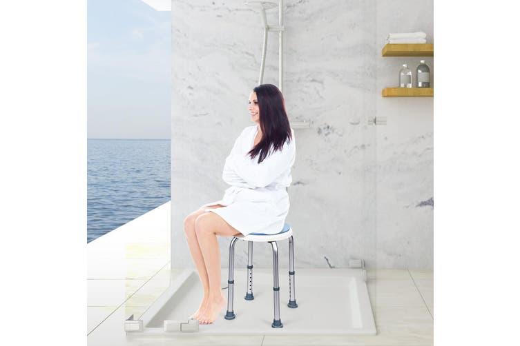 Adjustable Shower Chair W/Swivel Seat Bath Stool Bathroom Aid Bench