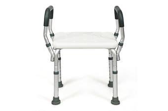 Adjustable Shower Chair Medical Bath Stool Bathtub Aid Bench W/Armrest