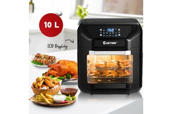 10L Air Fryer Oven Multifunctional Kitchen Healthy Cooker Electric Convection Oven Low Fat