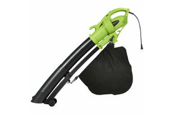 Electric Leaf Blower 3-in-1 Vacuum Variable 6 Speed Yard Garden Tool Handheld w/ Strape
