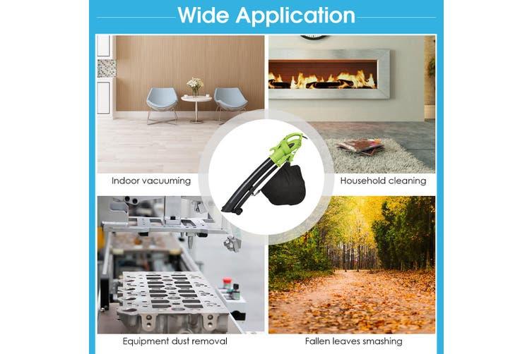 Electric Leaf Blower 3-in-1 Vacuum Variable 6 Speed Yard Garden Tool Handheld w/ Strape