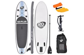 Costway 10' Inflatable Stand Up Paddle Board SUP Kayak Surf Board Adjustable w/Bag