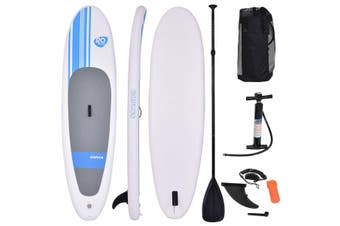 Costway 10' Inflatable Stand Up Paddle Board SUP Kayak Surf Board with Backpack & Leg Leash