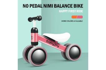 4 Wheels Baby Balance Bike, Child Walker, kids Ride On Toys, Mini Toddler No Pedal Push Scooter, Gift