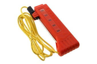 Gallagher G50100 Neon Fence Tester Electric Fencing 5 Neon Indicator Lights