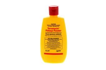 Terramycin Pinkeye Powder 50g Pfizer Treat Common Eye Infections Animal Health