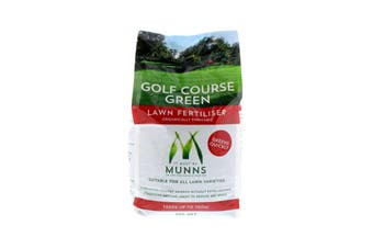 Golf Course Green Lawn Fertiliser For All Lawns Munns 5kg Feeds up to 100 sqm