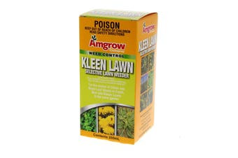 Herbicide Kleen Lawn 250ml Selective Weeder With 240g/L Mecoprop 40g/L Dicamba
