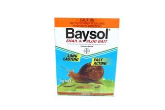 Baysol Snail & Slug Killer Long Lasting Fast Acting Mould Resistant Bayer 1kg