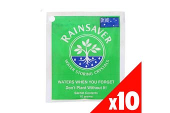 Water Crytals Rainsaver Waters When You Forget 10g PACK OF 10 Rainsaver