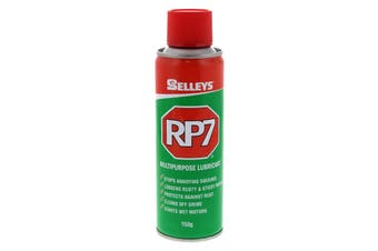 RP7 Multipurpose Lubricant Loosens Rusted Parts 150g Aerosol Spray Can Selleys