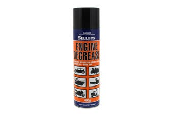 Degreaser Engine Spray On Hose Off 400g Aerosol Spray Can Selleys