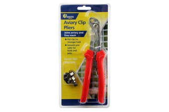 Aviary Clip Pliers Includes Bonus Starter Clips 2.5mm Wire 12407 Whites Wires