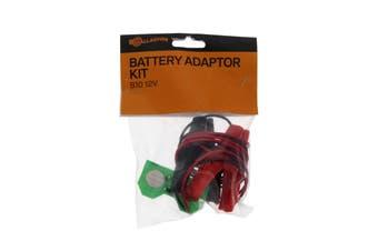 Gallagher G52100 Portafence B10 12 Volt Battery Adaptor Kit Electric Fencing