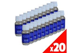 20 Pack Spirit Essence Flavour SAPPHIRE BLUE GIN 50ml Edwards Essence