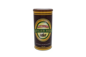 Ginger Beer 980g Makes 20L Morgans Home Brew Beer Alcoholic Or Non-Alcoholic
