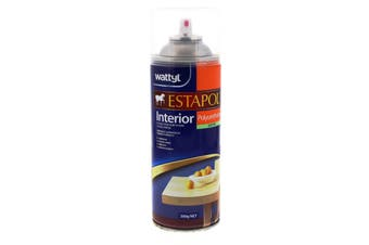 Estapol Aerosol Satin Interior Spray Paint 300g Wattyl Honey Toned Appearance
