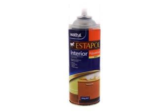 Estapol Aerosol Matt Interior Spray Paint 300g Wattyl Honey Toned Appearance