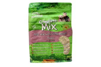 Vets All Natural Complete Mix Dog Food Puppy 1kg Healthy Essential Vitamins